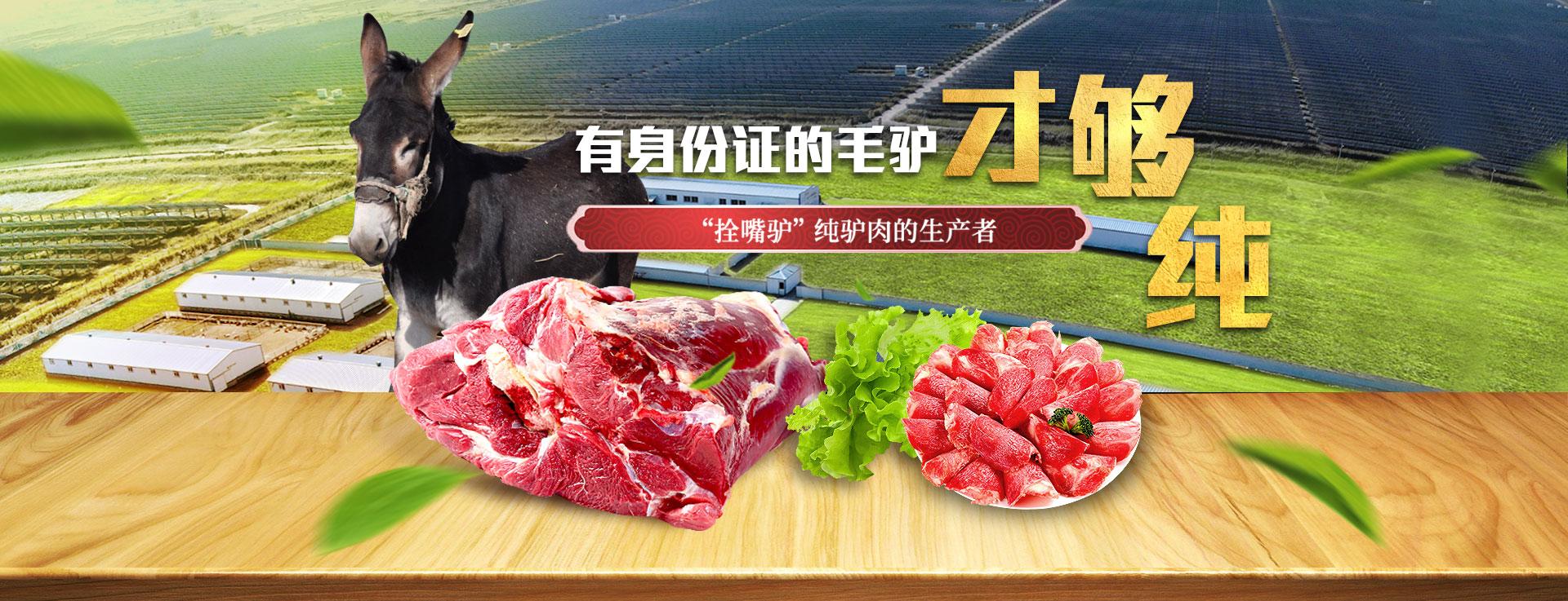拴嘴驴纯驴肉生产者