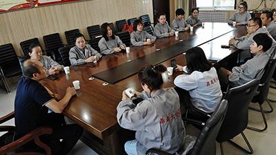 鼎晟龙食品公司全员学习食品安全法