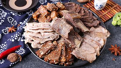 拴嘴驴驴肉熟食为什么将驴肉按部位分割销售